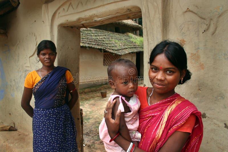 Madre tribal fotos de archivo