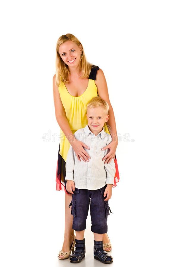 Madre y niño fotos de archivo libres de regalías