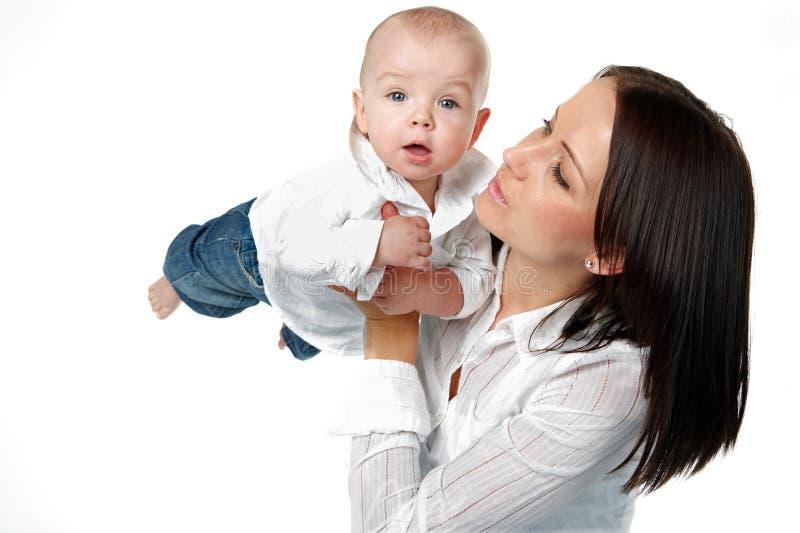 Madre y niño. fotografía de archivo libre de regalías
