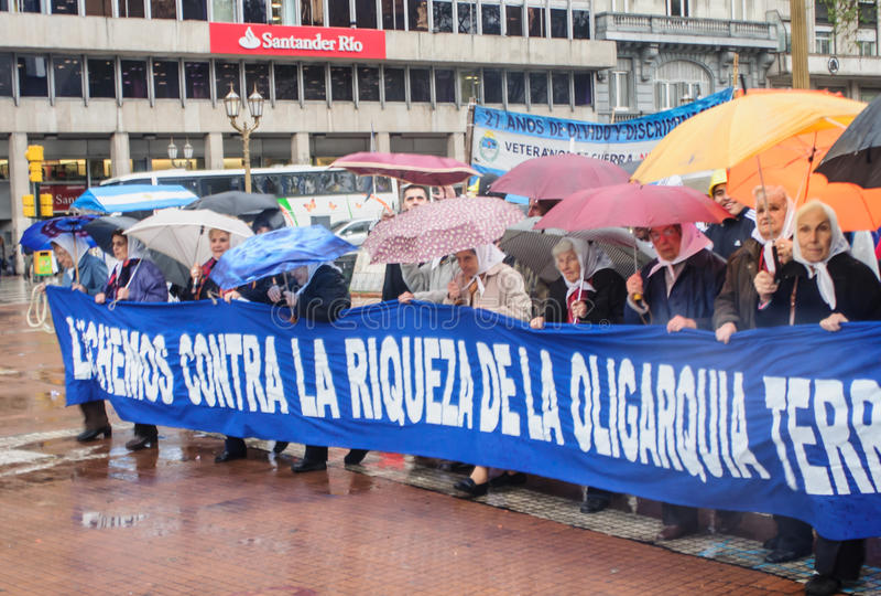 Madres De Plac De Mayo zdjęcie royalty free