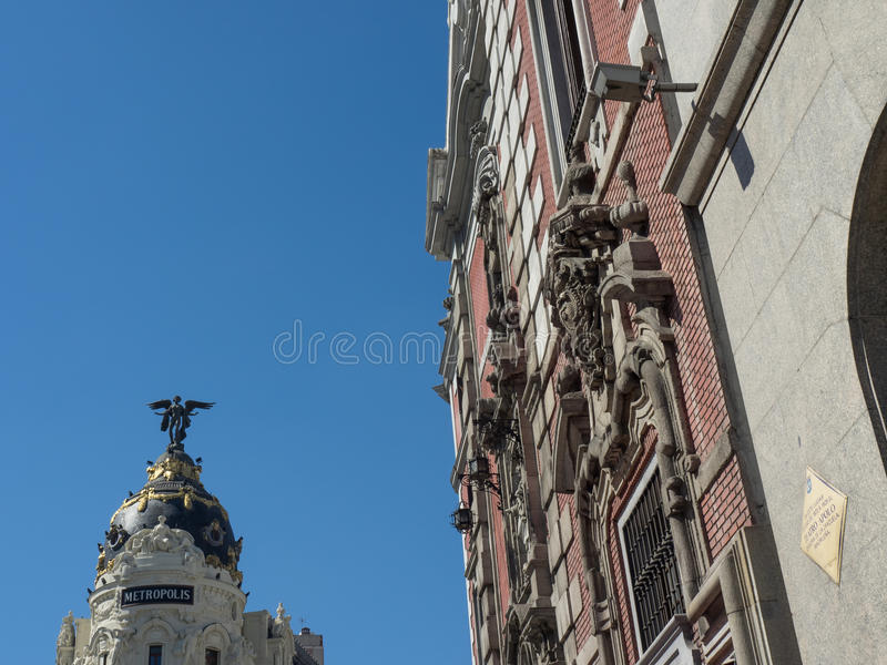 Madri em spain fotografia de stock royalty free