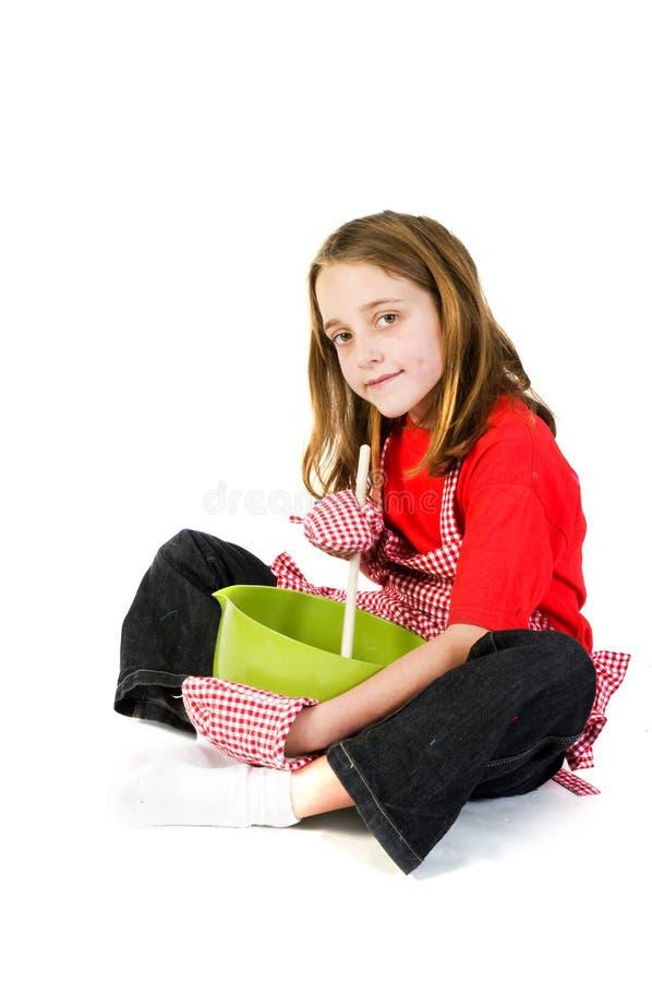 Madri piccolo guida fotografia stock