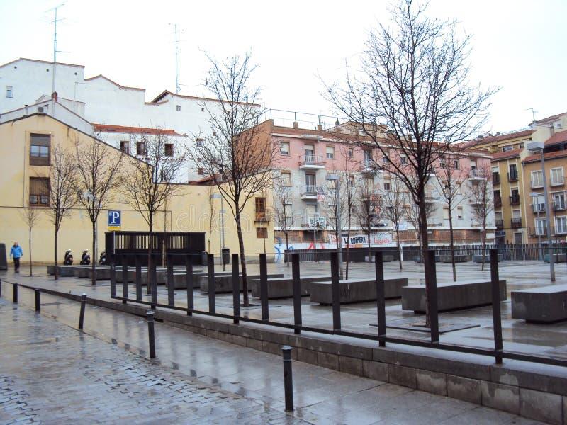 Madri quadrado do ` II de Nelson Mandela do `, Espanha imagens de stock royalty free