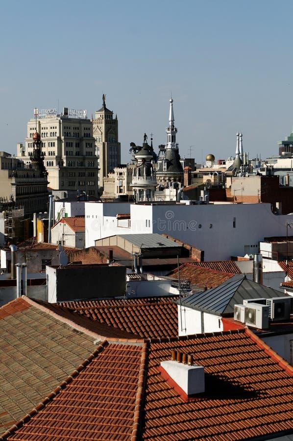 Madrid photographie stock libre de droits
