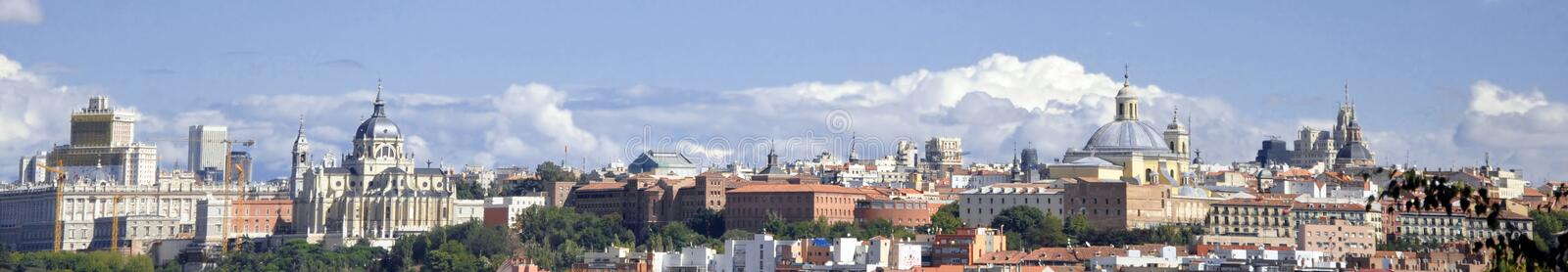Madrid 2 royalty free stock photo