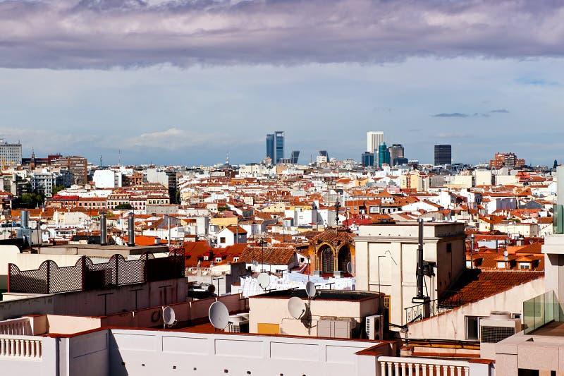 Madrid stockfotografie