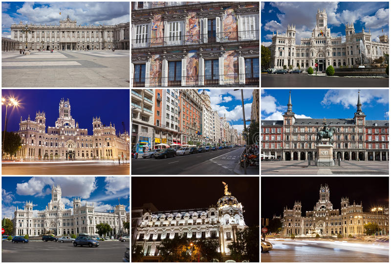 Madrid stock foto
