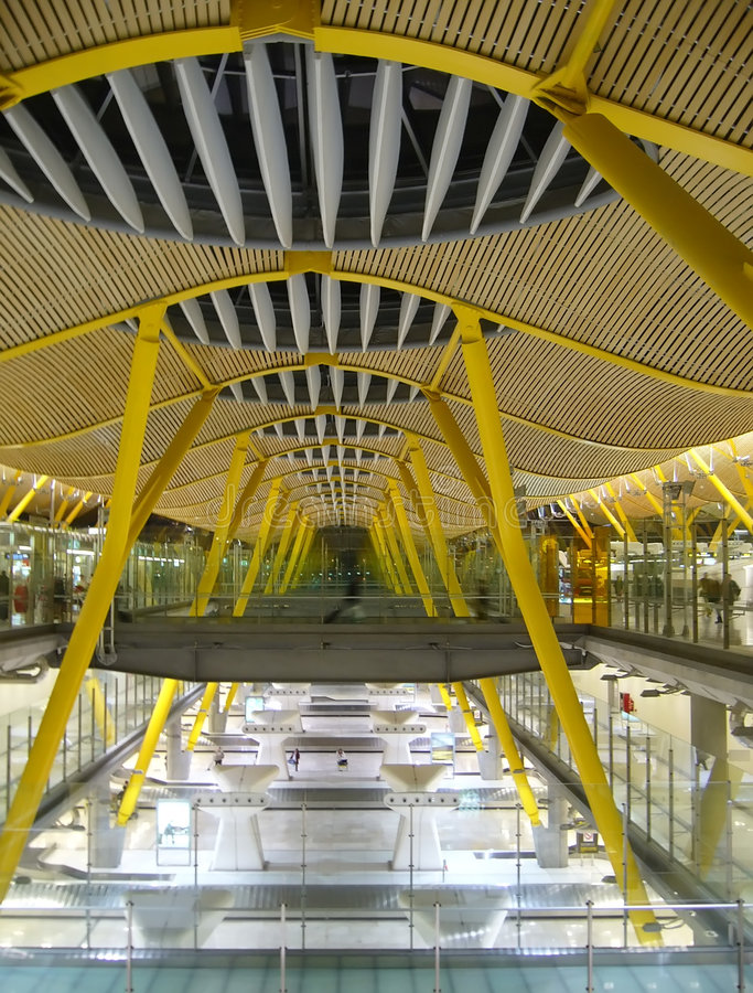 Download Madrid airport stock image. Image of tour, steel, infrastructure - 2047323