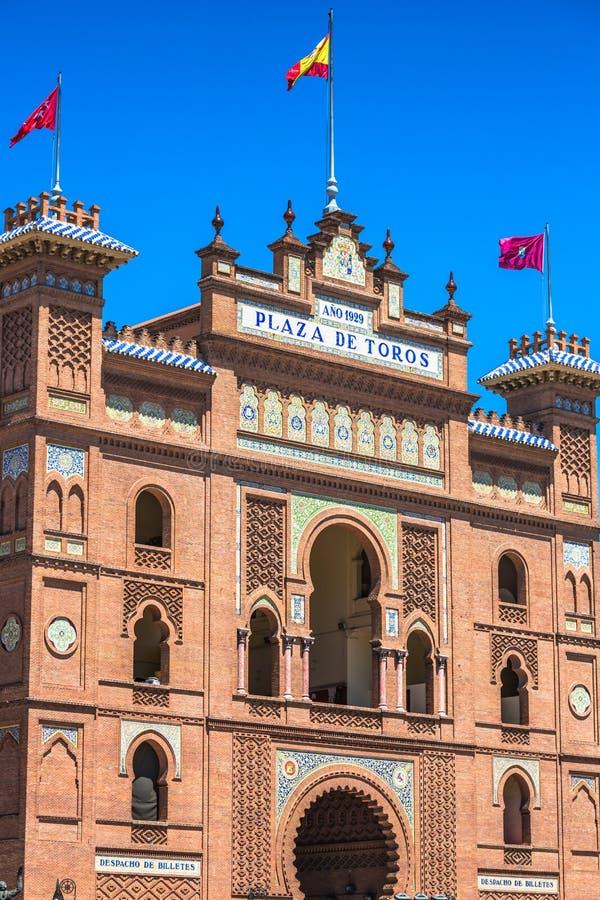 madrid Arena famosa de la tauromaquia en Madrid Attractio turístico imágenes de archivo libres de regalías