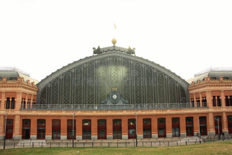 Madrid Atocha railway station stock image