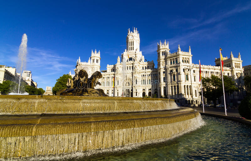 Madrid royalty free stock photos