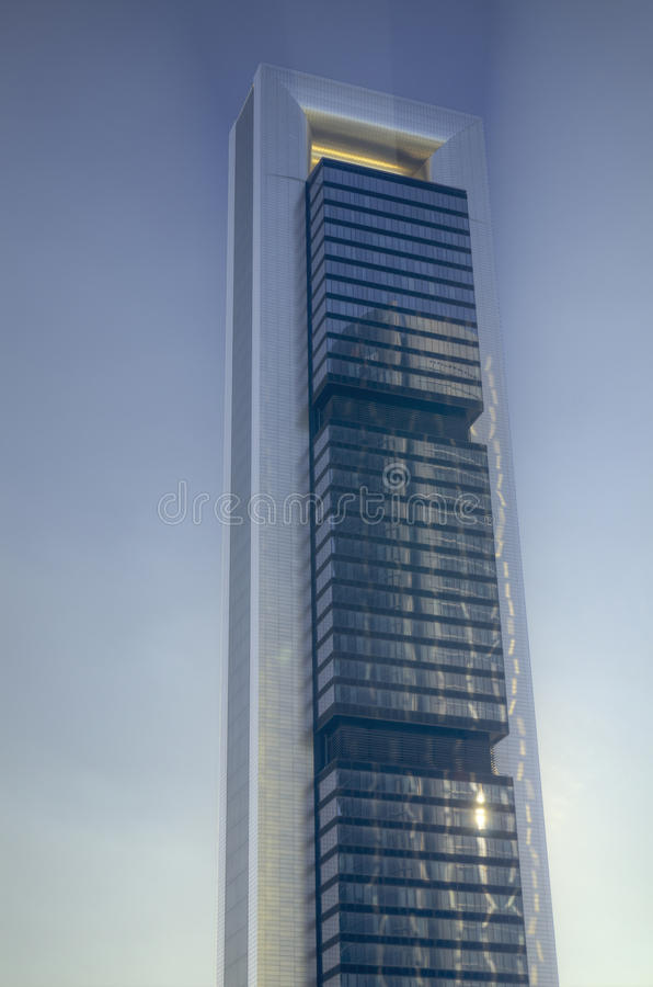 Download Madrid City  Skyscrapers. Famous Spanish Landmark Stock Image - Image: 28400131