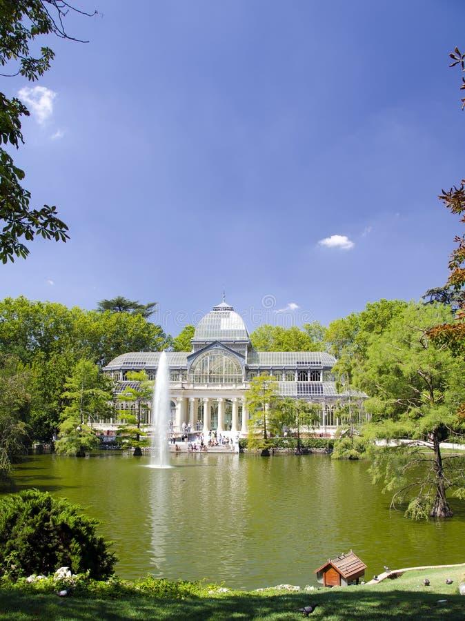 Download Madrid crystal palace stock photo. Image of palacio, palace - 25952986