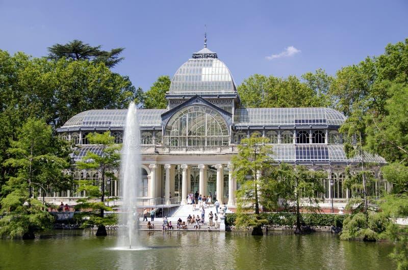 Download Madrid Crystal Palace Stock Photo - Image: 25968850