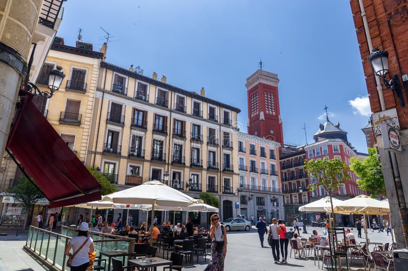 Madrid Downtown royalty free stock images