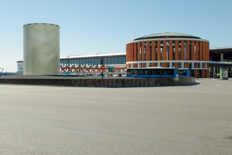 Madrid, España-abril, 2,2010 Estación de Atocha, Madrid españa foto de archivo