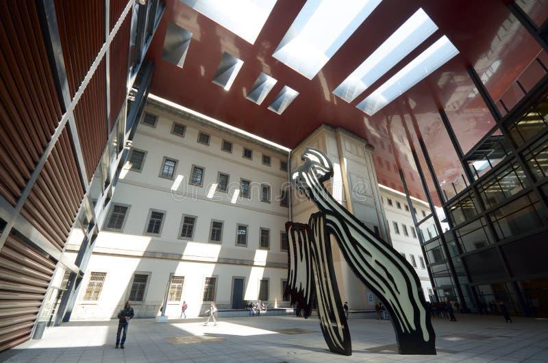 Reina Sofía del museo fotografía de archivo libre de regalías