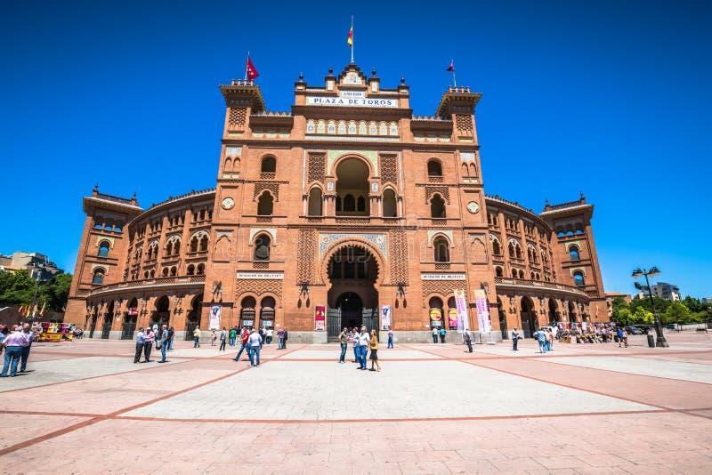 Madrid, España-mayo 5,2015: Plaza de toros de Las Ventas en Madrid, España imagen de archivo