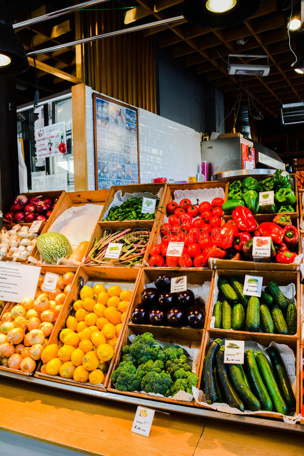 Madrid Fruit and Veg royalty free stock images