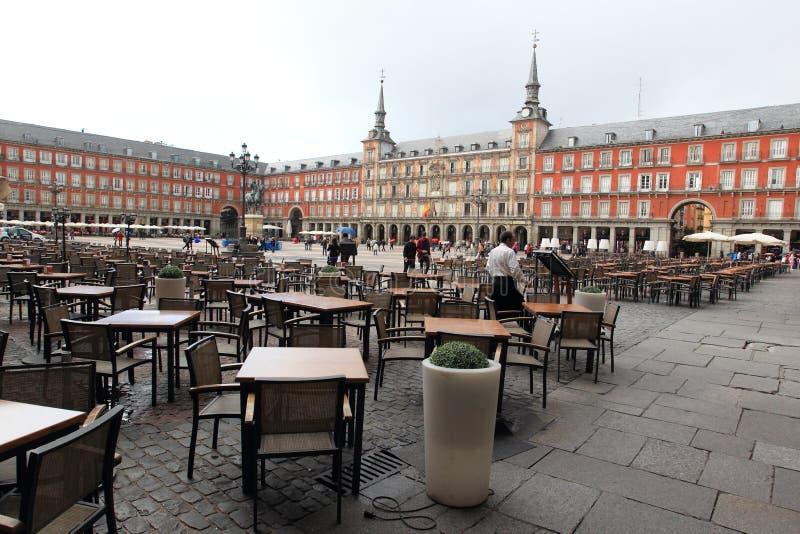 Madrid - maire de plaza photo libre de droits