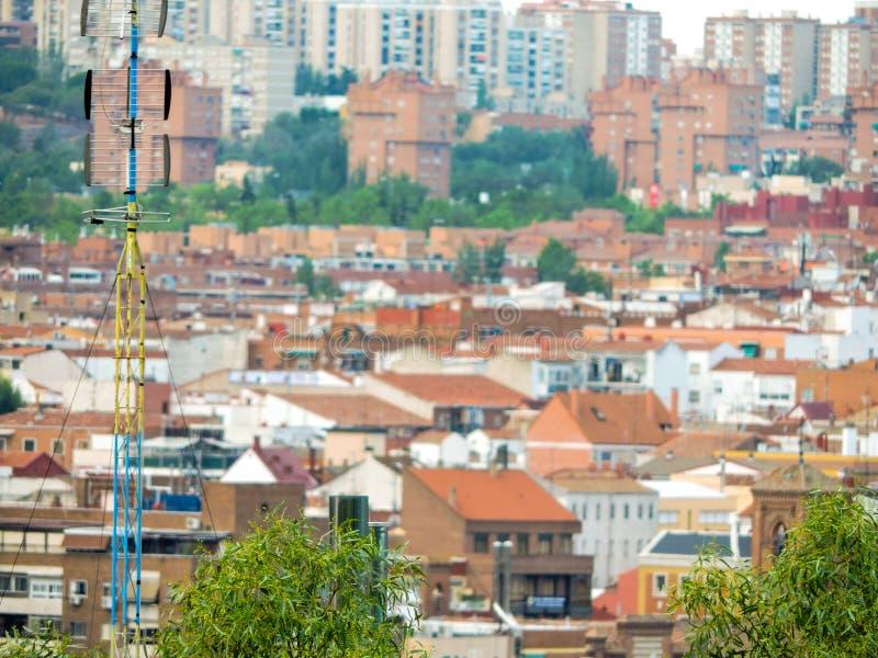 Madrid moderno fotografia de stock