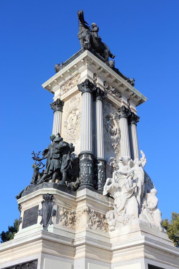 Madrid-Monument lizenzfreie stockfotos