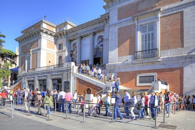 madrid Museo di Prado immagini stock