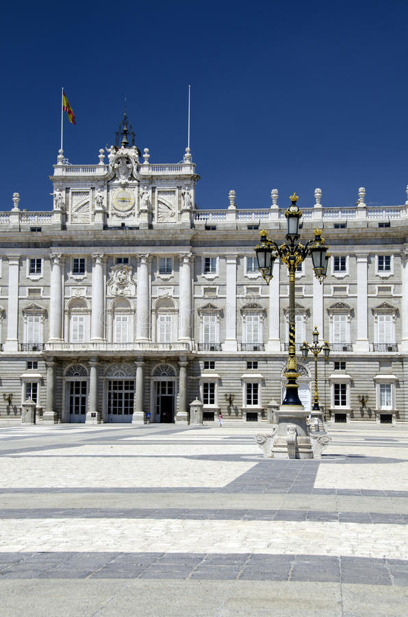 Download Madrid Palace stock image. Image of famous, exterior - 26001639
