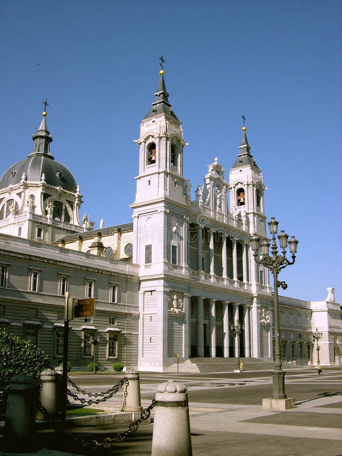 Madrid palace royalty free stock images