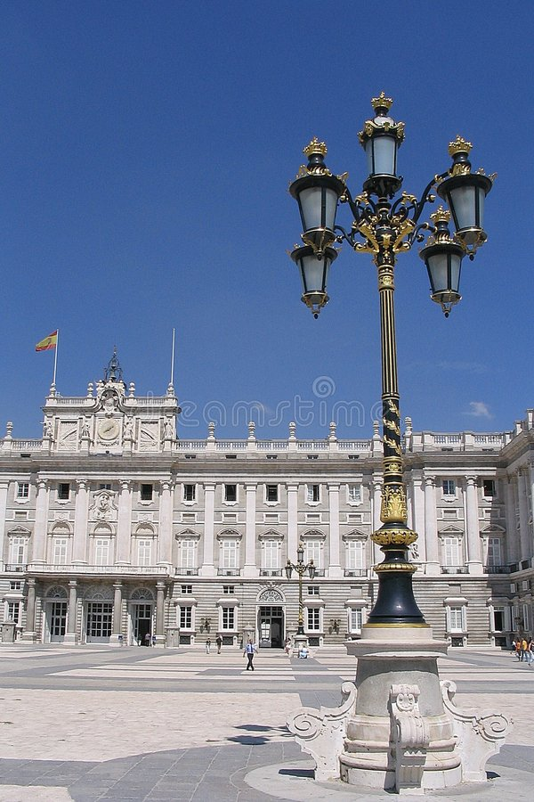 Free Madrid Palace With Lamp Stock Image - 174531