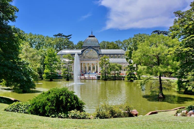 Madrid, Palacio DE Cristal royalty-vrije stock fotografie