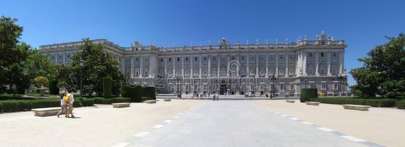 Madrid panorama royalty free stock photos