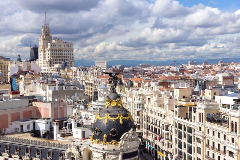 Madrid royalty free stock photography