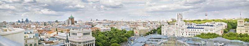 Download Madrid panoramical view stock image. Image of spanish - 20539871