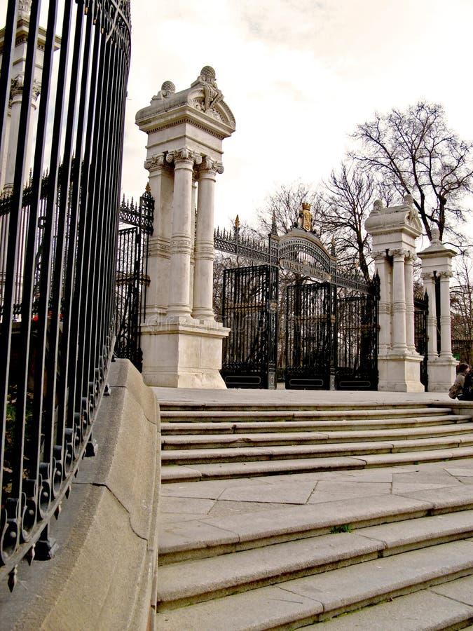 Madrid, Parque del Retiro 07 stock photos