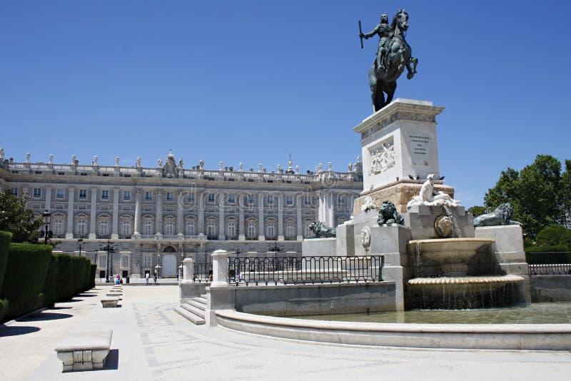 Madrid-Piazza lizenzfreies stockfoto
