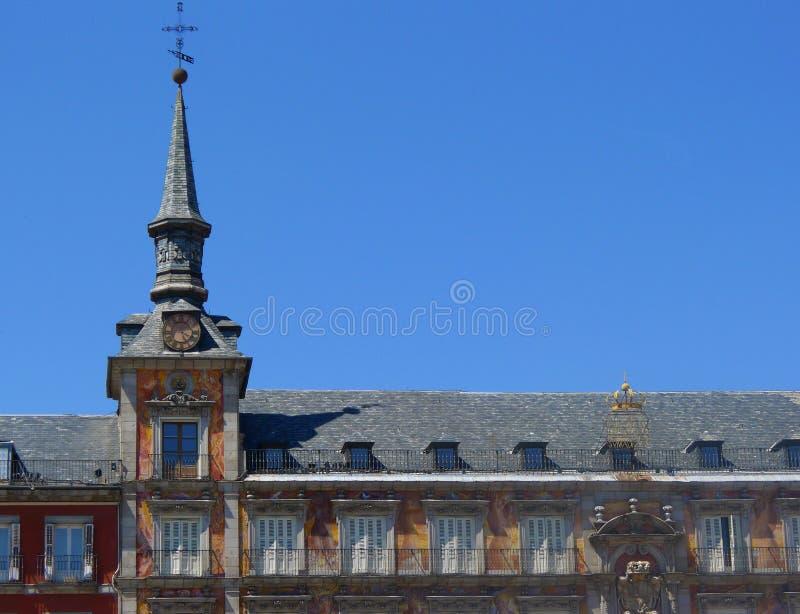 Madrid, Piazza-Bürgermeister stockfoto