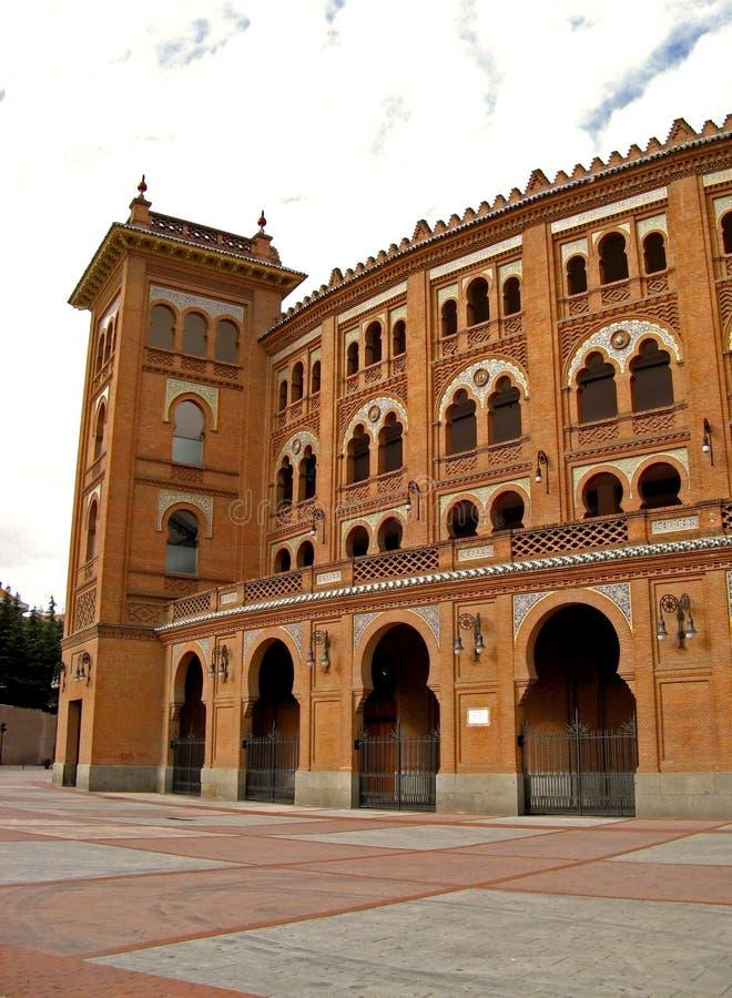 Madrid, Plaza de Toros 08 stockbilder