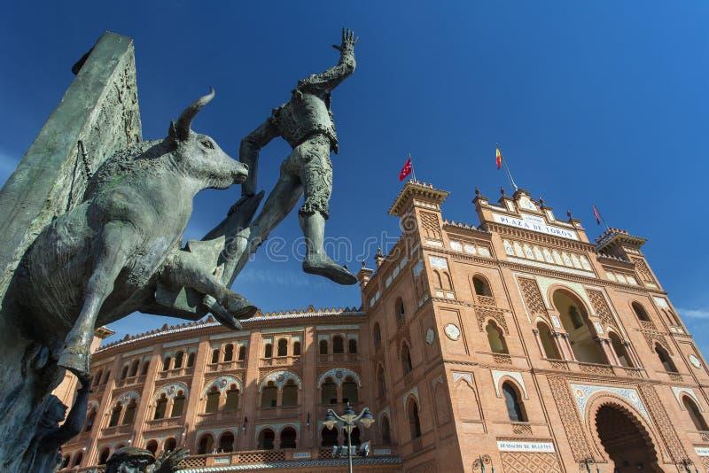 Madrid, Plaza de Toros de Las Ventas foto de stock royalty free