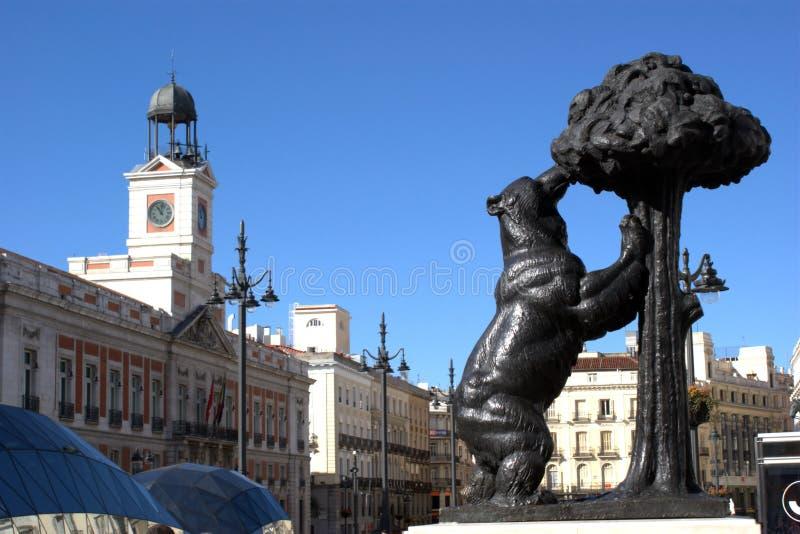 Madrid - Puerta del Sol royalty-vrije stock afbeeldingen