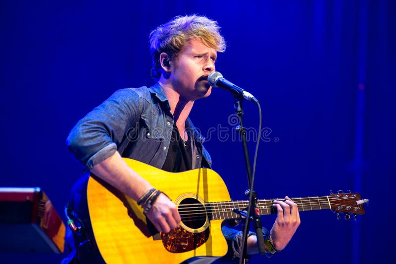 Kodaline band perform in concert at Dcode Music Festival. MADRID - SEP 10: Kodaline band perform in concert at Dcode Music Festival on September 10, 2016 in stock photography