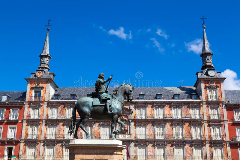 Madrid, Spain imagem de stock royalty free