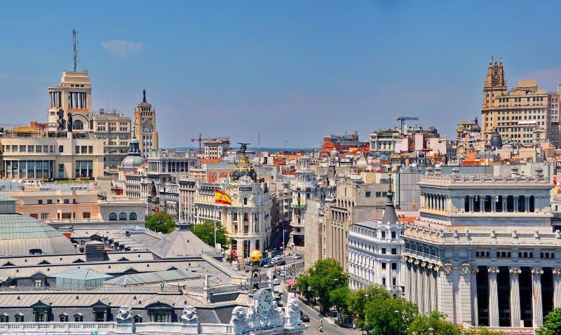 Madrid Spain stock image