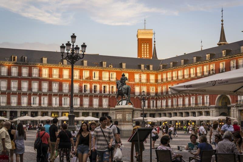Madrid, Spain imagens de stock