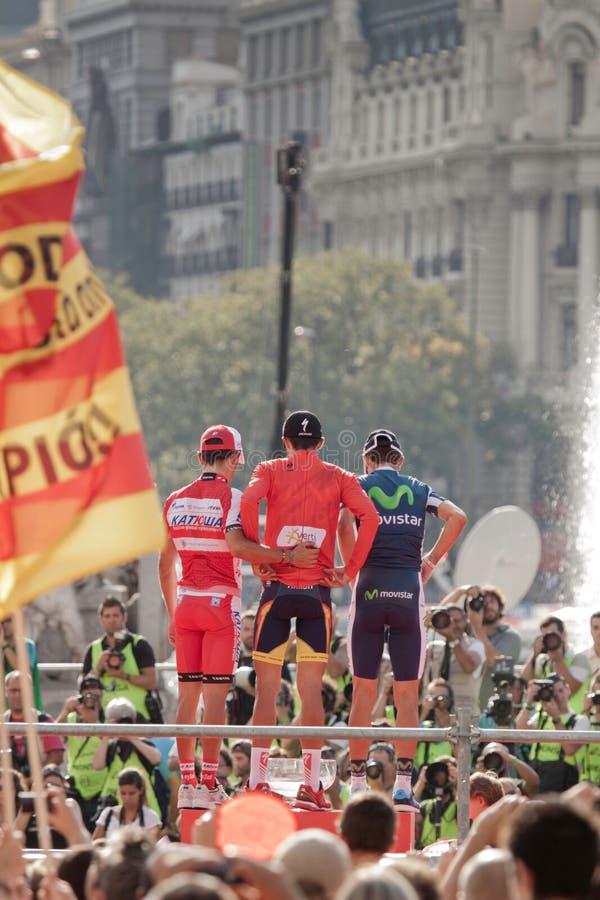 MADRID, SPAIN - SEP 9th 2012: Vuelta 2012 Editorial Image