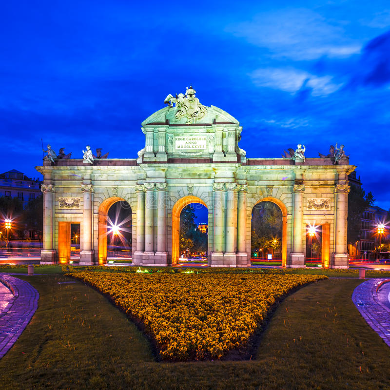 Madrid Spanien Royaltyfria Bilder