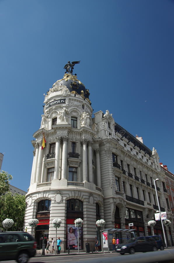 Madrid Spanien lizenzfreie stockfotos