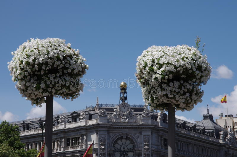 Madrid Spanien stockbild