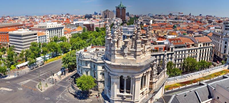 Madrid Spanje stock foto's