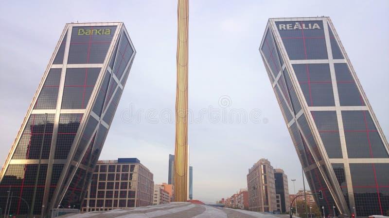 Madrid, Spanje stock afbeeldingen